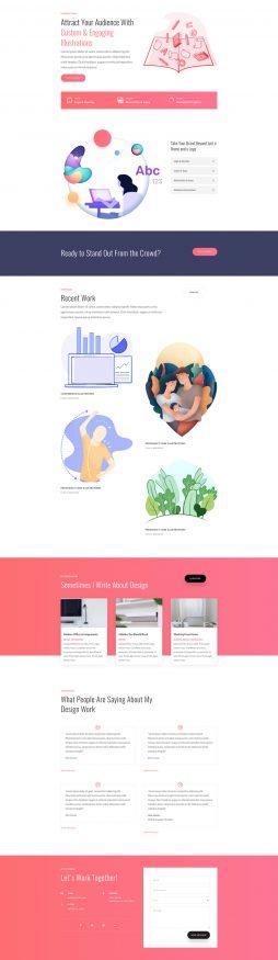 graphic-illustrator-landing-page-254x875